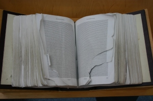 Actual photo of Encyclopedia Genetica by Ryan Somma at https://flic.kr/p/a6yTFZ